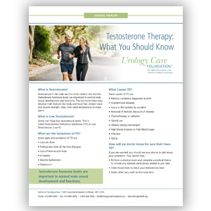 What is Low Testosterone? - Urology Care Foundation