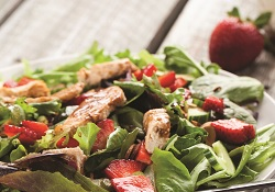 Strawberry-Spinach Salad