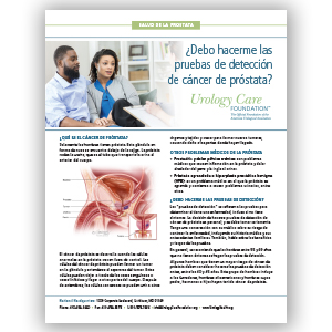 Deteccion de cancer de la prostata