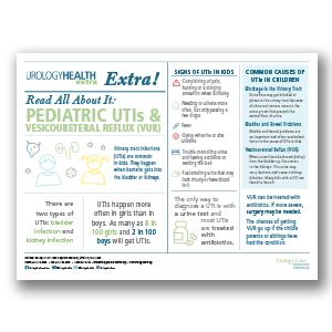 Pediatric UTIs and Vesicoureteral Reflux (VUR) Poster