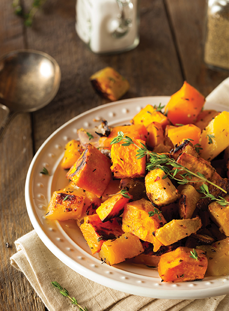 Roasted Butternut Squash & Shallots