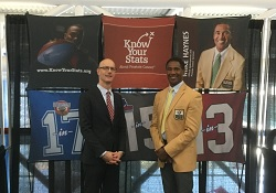 Team Know Your Stats Visits Super Bowl LI to Raise Awareness