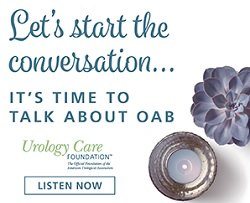 Overactive Bladder (OAB) Podcast Series