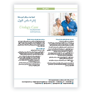 Arabic Life After Prostate Cancer-Urinary Incontinence