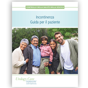 Italian Incontinence Patient Guide