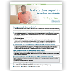 Spanish Prostate Cancer Screening Assessment Tool