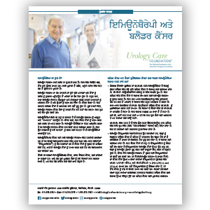 Immunotherapy and Bladder Cancer Punjabi