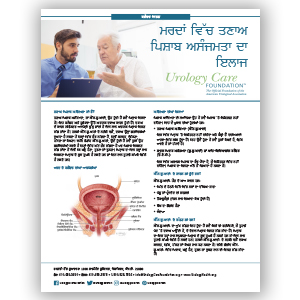 Treatment of Stress Urinary Incontinence in Men Punjabi