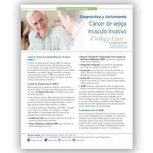 Spanish MIBC Diagnosing and Treating