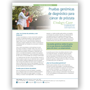 Spanish Genomic Testing for Prostate Cancer