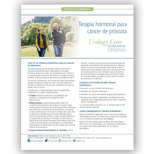 Spanish Hormone Therapy for Prostate Cancer