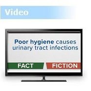 Fact or Fiction: Urinary Tract Infections (UTIs) & Hygiene