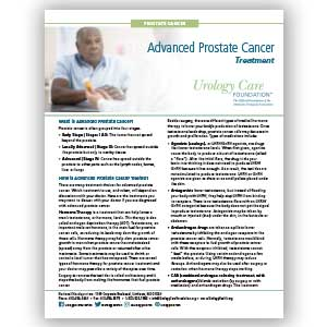 Advanced Prostate Cancer, Treatment Options