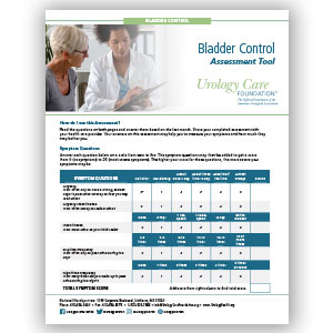 Bladder Control Assessment Tool