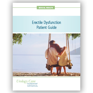 Erectile Dysfunction Brochure
