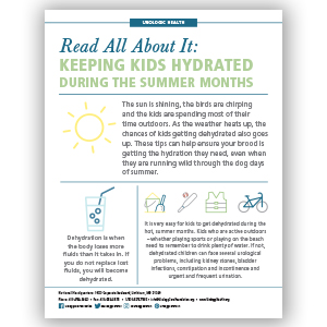 Summer Hydration Infographic