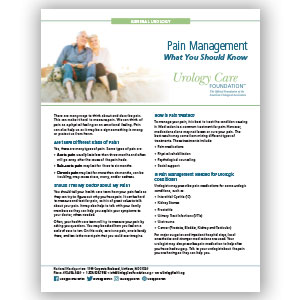 Pain Management Fact Sheet