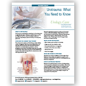 Urotrauma  – What You Need to Know